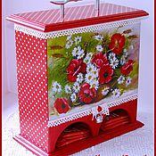 Для дома и интерьера ручной работы. Ярмарка Мастеров - ручная работа Чайный домик двойной. Handmade.