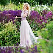 Свадебный салон ручной работы. Ярмарка Мастеров - ручная работа Свадебное платье Сирень. Handmade.