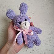 Куклы и игрушки handmade. Livemaster - original item Bunny is a Knitted stuffed animal handmade Amigurumi Marshmallow. Handmade.