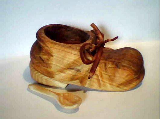 """Кухня ручной работы. Ярмарка Мастеров - ручная работа. Купить солонка """"чей туфля"""". Handmade. Солонка, для кухни, сувенир, коричневый"""