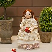 """Куклы и игрушки ручной работы. Ярмарка Мастеров - ручная работа Авторская кукла """"В ожидании праздника"""" (la-la-kukla). Handmade."""