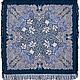 Шерстяной павлово-посадский платок Морозко