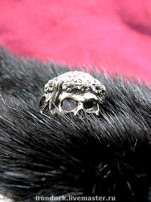 """Кольца ручной работы. Ярмарка Мастеров - ручная работа. Купить кольцо """"My Dying Bride"""". Handmade. Серебро, серебро"""