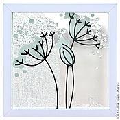 Картины и панно ручной работы. Ярмарка Мастеров - ручная работа Цветущие дудки. Handmade.