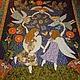 """Текстиль, ковры ручной работы. Ярмарка Мастеров - ручная работа. Купить Одеяло """"Танец ангелов"""". Handmade. Одеяло, украшение интерьера"""