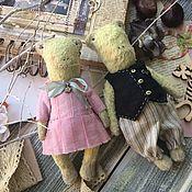 Мягкие игрушки ручной работы. Ярмарка Мастеров - ручная работа Лягуха Чита и лягух Жорик. Handmade.
