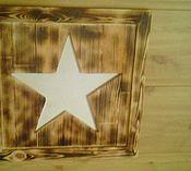 Для дома и интерьера ручной работы. Ярмарка Мастеров - ручная работа Панно звезда. Handmade.