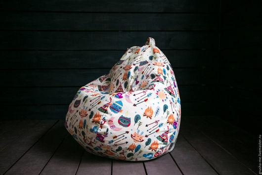 Мебель ручной работы. Ярмарка Мастеров - ручная работа. Купить Кресло-груша детское из микровелюра. Handmade. Комбинированный, велюр, велюр