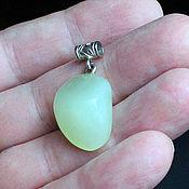 Украшения handmade. Livemaster - original item Jadeite Pendant -  Apple Green Natural Jade Grade A. Handmade.