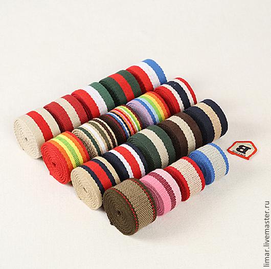 Шитье ручной работы. Ярмарка Мастеров - ручная работа. Купить Ременная лента 30 и 38 мм, 19 цветов. Handmade.