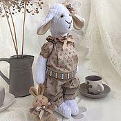 Куклы и игрушки ручной работы. Ярмарка Мастеров - ручная работа Сонечка овечка домашняя. Handmade.