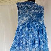 Одежда ручной работы. Ярмарка Мастеров - ручная работа Платье Нежное голубое. Handmade.