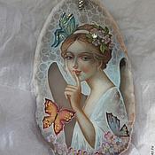 Pendants handmade. Livemaster - original item Angel in the silence. Handmade.