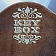 ключница `Ключи от сада`. выполнено с любовью.