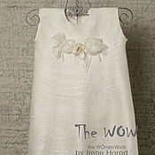 Работы для детей, ручной работы. Ярмарка Мастеров - ручная работа Шелковое платье для юной леди Flower Girl. Handmade.