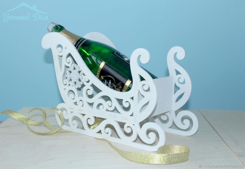 Sleigh new year ' snow waltz', Christmas gifts, Dimitrovgrad,  Фото №1