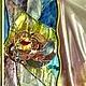 Элементы интерьера ручной работы. Заказать Розы-витраж в перегородку. студия Преображение (Jenny555). Ярмарка Мастеров. Витражная роспись, роза