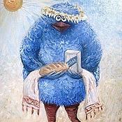 Картины и панно ручной работы. Ярмарка Мастеров - ручная работа Хозявка. Handmade.