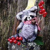 Куклы и игрушки ручной работы. Ярмарка Мастеров - ручная работа Крошка енот. Handmade.