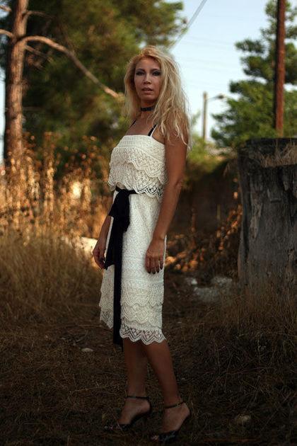 Платья ручной работы. Ярмарка Мастеров - ручная работа. Купить Падший ангел. Handmade. Вязаное платье спицами