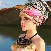 Украшения handmade. Livemaster - original item Necklace in the Egyptian style of beads