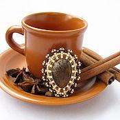 Украшения ручной работы. Ярмарка Мастеров - ручная работа Caffe macchiato. Handmade.