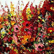 Картины и панно ручной работы. Ярмарка Мастеров - ручная работа Полевые цветы.. Handmade.