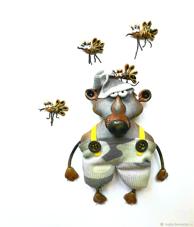 Медведь пасечник, Мини фигурки и статуэтки, Владивосток,  Фото №1
