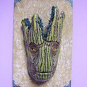 Для дома и интерьера handmade. Livemaster - original item Groot mask,Mask on the wall, the Druid,Head, Groot,Guardians of the galaxy. Handmade.