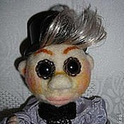Куклы и игрушки ручной работы. Ярмарка Мастеров - ручная работа Аркадий. Забавный валяный человечек. Handmade.