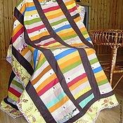 Для дома и интерьера handmade. Livemaster - original item Patchwork blanket