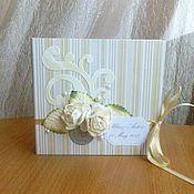 Свадебный салон ручной работы. Ярмарка Мастеров - ручная работа альбом, конверт или коробочка  для диска с видео и фото торжества. Handmade.