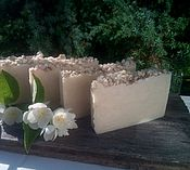Косметика ручной работы. Ярмарка Мастеров - ручная работа Нежное мыло с нуля с шелком. Handmade.