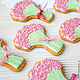 Stick a Bouquet of roses, Gingerbread Cookies Set, St. Petersburg,  Фото №1