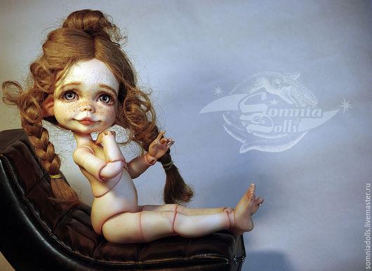 """Коллекционные куклы ручной работы. Ярмарка Мастеров - ручная работа. Купить Огонёк.  Кукла серии """"Три Цветочка"""". Handmade. Бежевый"""