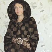 """Одежда ручной работы. Ярмарка Мастеров - ручная работа Шубка """"Сhess Queen"""". Handmade."""