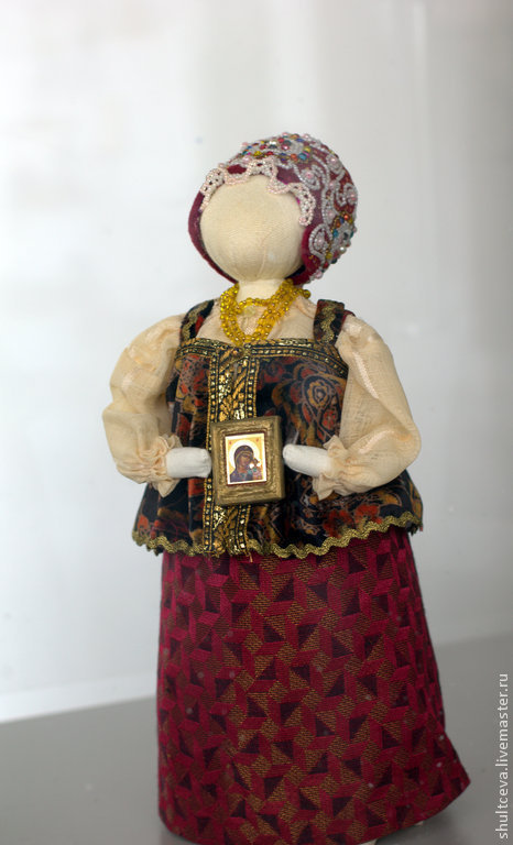 """Коллекционные куклы ручной работы. Ярмарка Мастеров - ручная работа. Купить Коллекционная кукла """"Осень.Благословение"""". Handmade. Интерьерная кукла"""