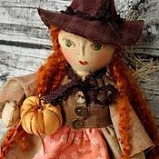 Куклы и игрушки ручной работы. Ярмарка Мастеров - ручная работа Колдунья, авторская чердачная кукла. Handmade.