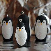Аксессуары ручной работы. Ярмарка Мастеров - ручная работа Пингвинчики брелоки. Handmade.