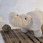 Куклы и игрушки ручной работы. Ярмарка Мастеров - ручная работа Слон, приносящий Удачу.. Handmade.