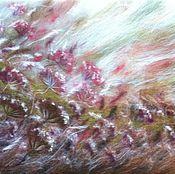 """Картины и панно ручной работы. Ярмарка Мастеров - ручная работа картина из шерсти """"Осень"""". Handmade."""