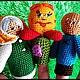 """Развивающие игрушки ручной работы. Заказать Пальчиковый театр""""Колобок"""".. мария (prosto-mariya). Ярмарка Мастеров. Сказка, развивающие игрушки"""
