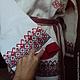 Одежда ручной работы. Рубаха жениха (Урал). СЛАВный стиль от Заряны. Ярмарка Мастеров. Машинная вышивка