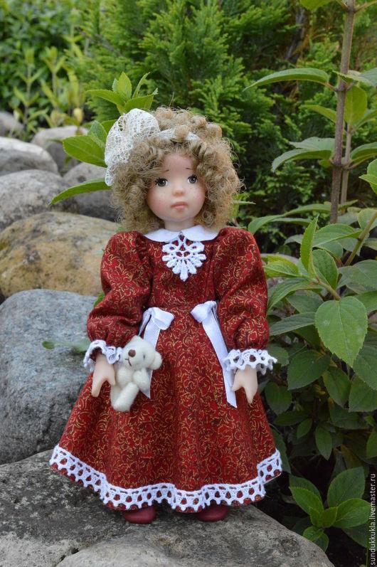 Коллекционные куклы ручной работы. Ярмарка Мастеров - ручная работа. Купить Кукла из  полимерной глины Марьяша. Handmade. Авторская кукла