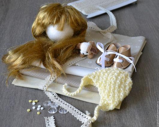 Куклы и игрушки ручной работы. Ярмарка Мастеров - ручная работа. Купить Набор для создания куклы Дарина. Handmade. Бежевый