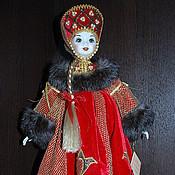 Куклы и игрушки ручной работы. Ярмарка Мастеров - ручная работа Фарфоровая кукла Осень Красава. Handmade.