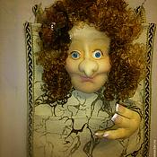 Куклы и игрушки ручной работы. Ярмарка Мастеров - ручная работа Кукла - оргонайзер, для Натальи. Handmade.
