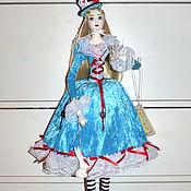 Куклы и игрушки handmade. Livemaster - original item Porcelain doll Alice in Wonderland handmade. Handmade.