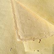 """Paper handmade. Livemaster - original item """"Golden grains"""" paper for letters. Handmade."""