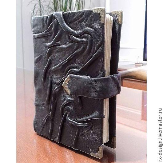 """Блокноты ручной работы. Ярмарка Мастеров - ручная работа. Купить Блокнот """"Древняя книга"""". Handmade. Коричневый, старинный стиль, древний"""